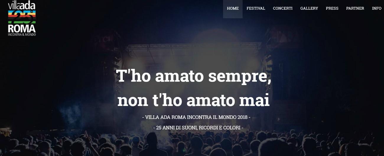 """Roma, stop ai concerti del festival a Villa Ada. Il Comune ferma tutto dopo la sentenza del Tar: """"Carenza istruttoria"""""""