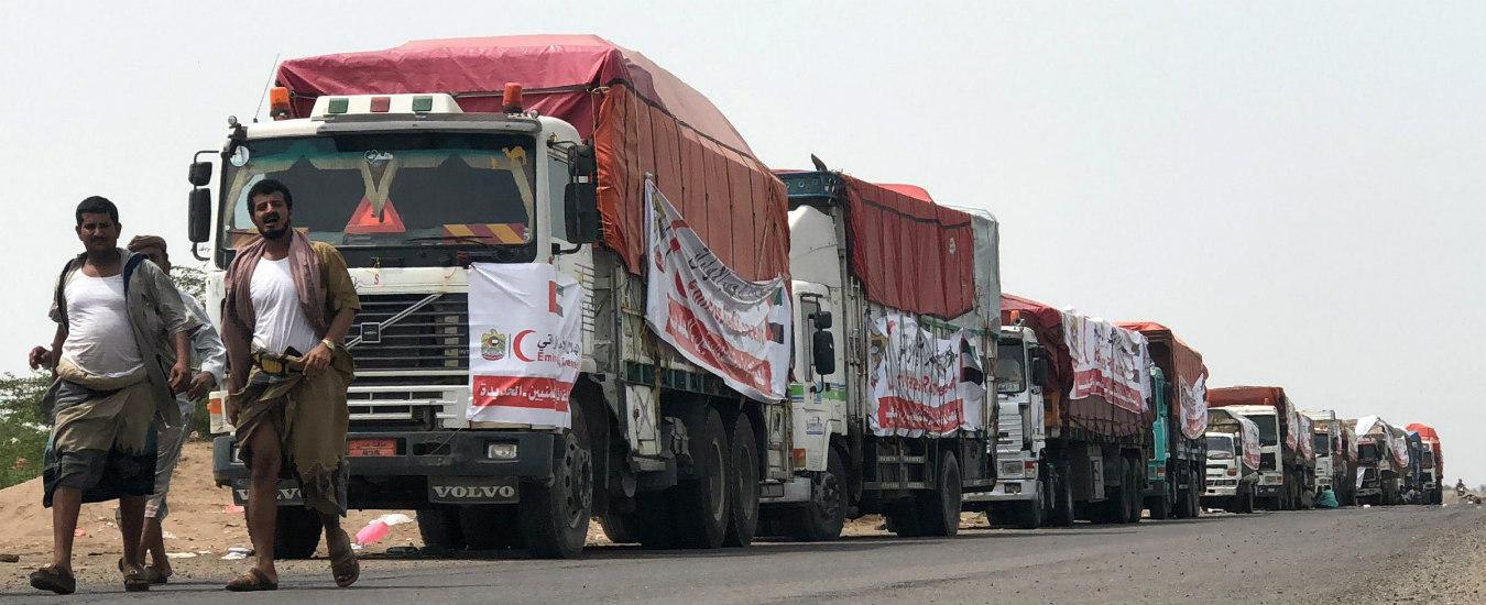 Yemen, come sauditi e Huthi ostacolano ingresso e distribuzione degli aiuti