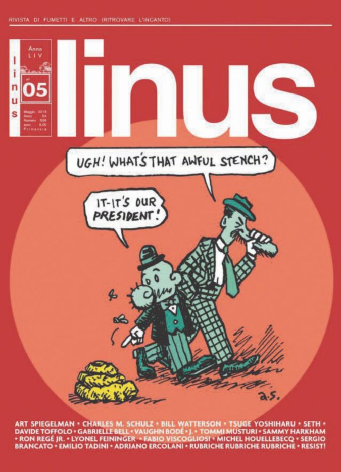 Tutto scritto e colorato, Linus è tornato in edicola