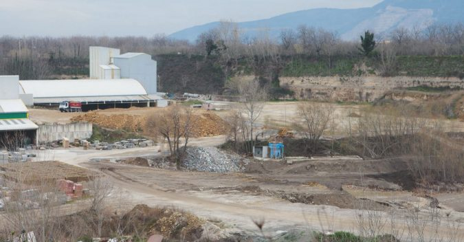 L'acqua contaminata usata per gli incendi sul Vesuvio