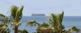 """Migranti, autorizzato lo sbarco dei 113 migranti bloccati sulla nave al largo di Pozzallo. Sindaco: """"Finisce il loro incubo"""""""