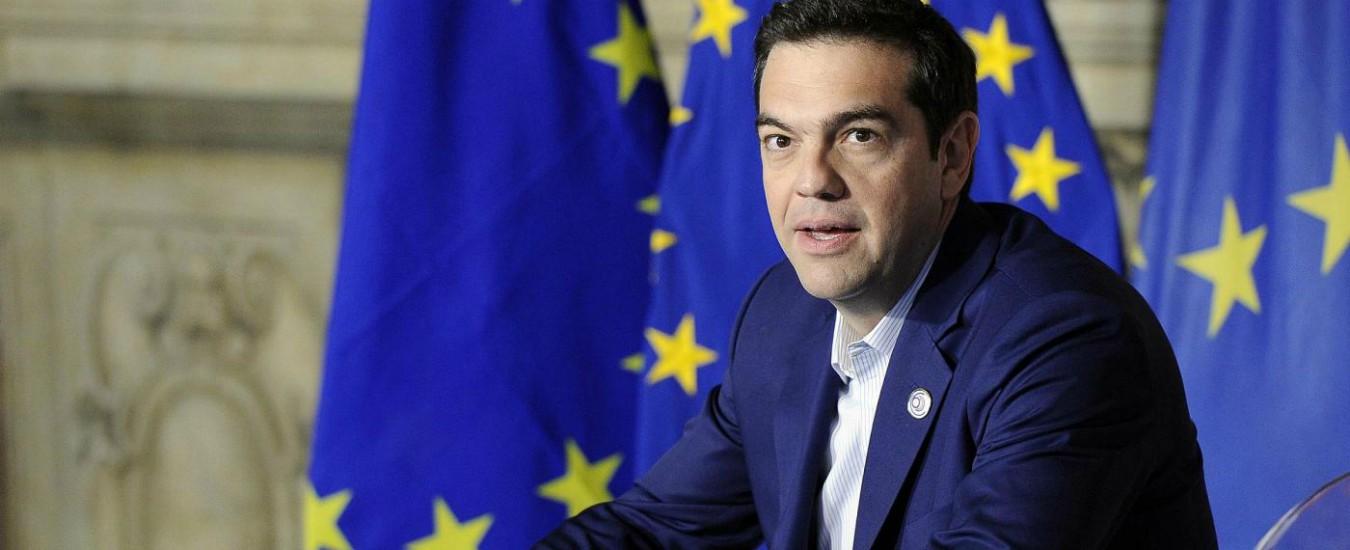 """Grecia, Tsipras annuncia aumento del salario minimo a 650 euro. """"Lo dobbiamo a chi ha sofferto di più la crisi"""""""