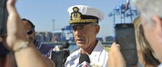 """Migranti, il comandante della Guardia costiera: """"Risponderemo sempre agli sos. È un obbligo giuridico e morale"""""""
