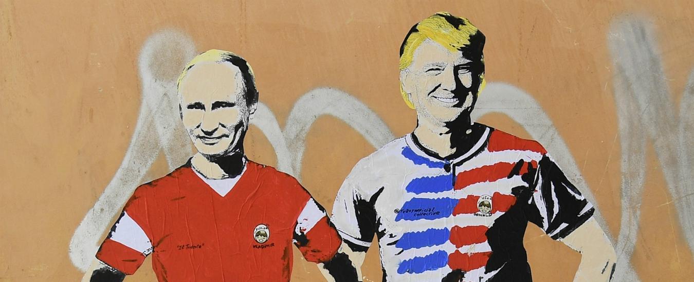 Russia 2018, le palle di Putin / Il dubbio di Vladimir: tifare da casa o andare allo stadio? E se si perde?