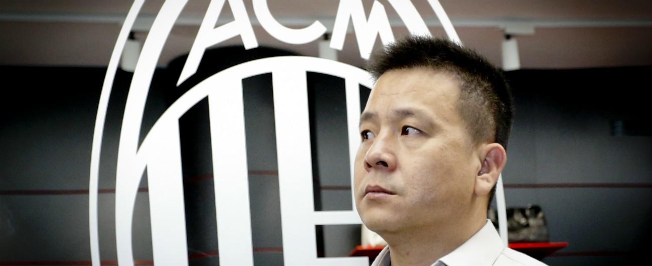 Milan, l'ex patron Yonghong Li nei guai: non ha pagato i debiti, gli hanno requisito il passaporto