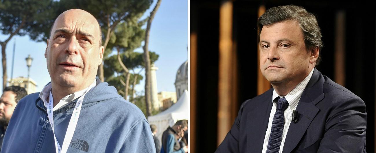 """Pd, Zingaretti pronto a correre per la segreteria. Orlando sta con lui. Calenda: """"Fronte Repubblicano oltre attuali partiti"""""""