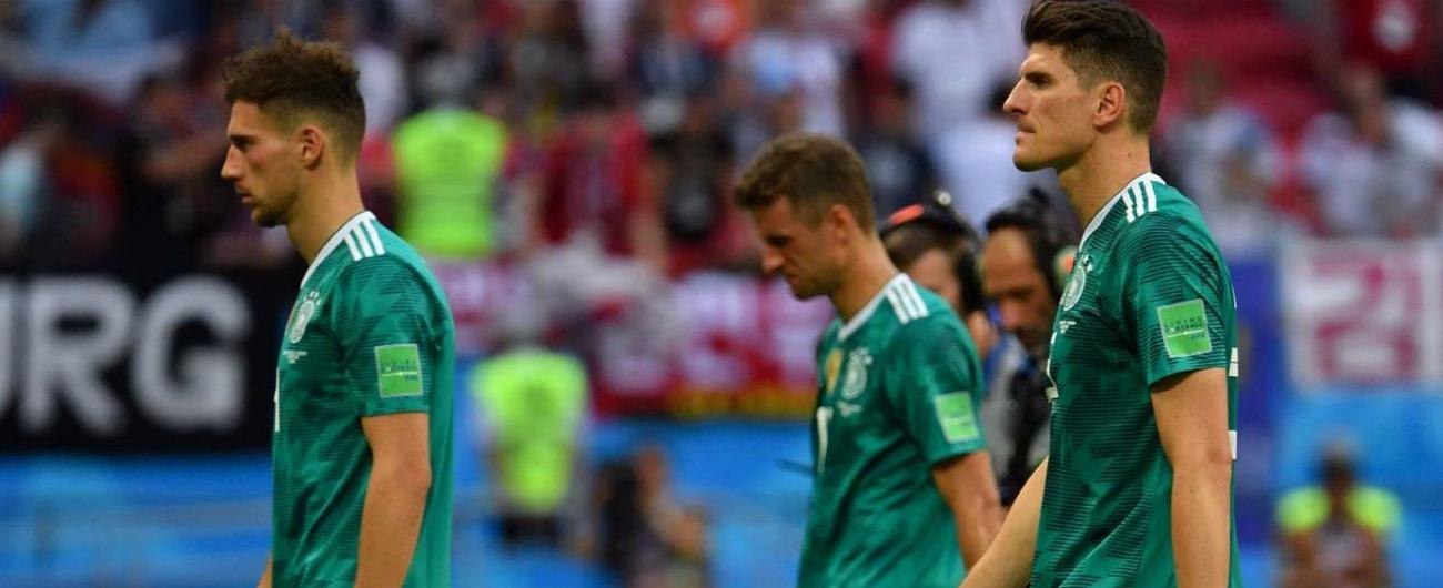 Mondiali Russia 2018, clamorosa eliminazione della Germania: i tedeschi perdono contro la Corea e tornano a casa