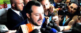 """Ue, accordo su migranti. Salvini: """"Soddisfatto, ma ora vogliamo vedere i numeri. In passato Europa ci ha preso i giro"""""""