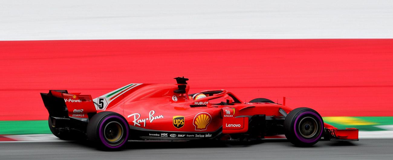 F1 orari tv, Vettel Gp Austria