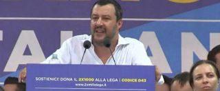 """Pontida 2018, Salvini: """"Avviso i mafiosi e i camorristi: la pacchia è finita. È l'inizio di una guerra"""""""