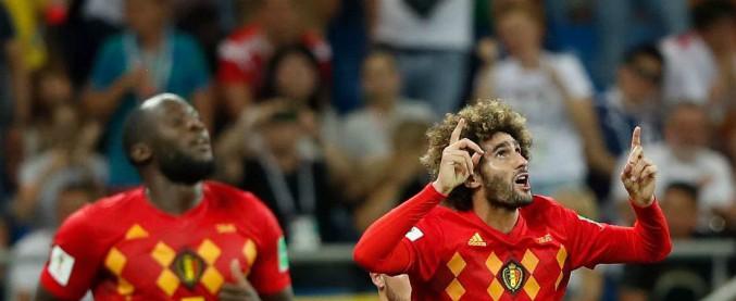 Mondiali 2018, Belgio-Giappone 3 a 2: i diavoli rossi rimontano il due a zero e vanno ai quarti contro il Brasile