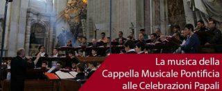 Papa Francesco ha commissariato il coro della Cappella Sistina dopo gli scandali finanziari