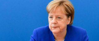 Angela Merkel, nuovo tremore per la cancelliera tedesca: è il terzo episodio in poche settimane