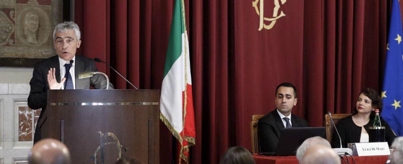 """Tito Boeri: """"Io minacciato, Di Maio perde contatto con la crosta terrestre"""". Palazzo Chigi: """"Espressioni fuori luogo"""""""