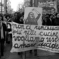 Milano, manifestazione femminista