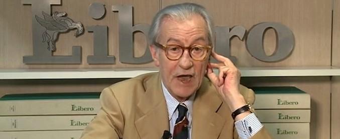"""Vittorio Feltri: """"Gli ebrei? Sono decenni che rompono i coglioni con la Shoah"""""""