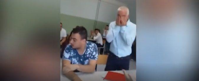 Studente autistico alla maturità, Fontana e Bussetti elogiano l'insegnante ma non il suo mestiere