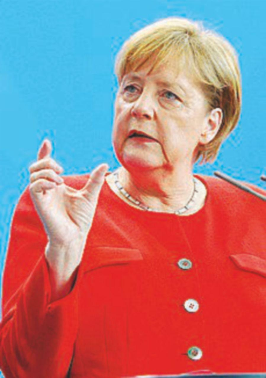 """La Merkel fa pace con Spd e Csu: """"No campi di transito """""""