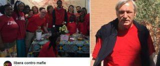 """Maglietta rossa, l'iniziativa di Libera sui migranti. Salvini: """"Che peccato, non l'ho trovata"""". Don Ciotti: """"Gliela porto io"""""""