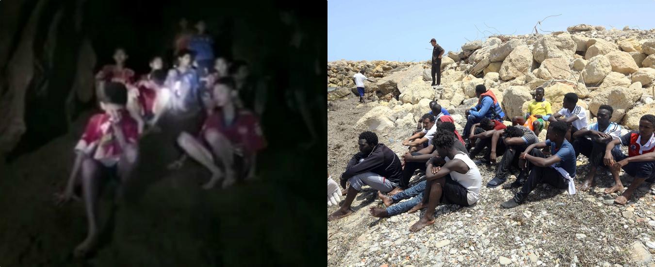 Thailandia, ci preoccupiamo per quei ragazzi ma esultiamo per i morti in mare. È l'effetto Lucifero