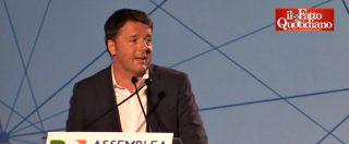 """Assemblea Pd, Renzi elenca le sue 10 ragioni della sconfitta: """"Sud, vitalizi e Ius soli"""". E poi: """"Siamo stati poco sui social"""""""