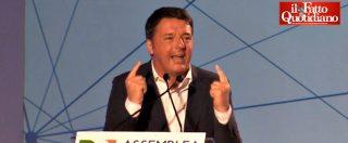 """Assemblea Pd, Renzi: """"Accordo con M5s? Ho combattuto come un leone per oppormi. È la vecchia destra"""""""