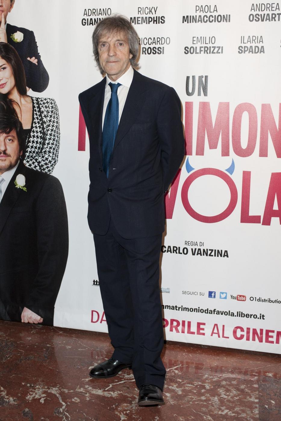 Anteprima a Roma del film 'Un matrimonio da favola'