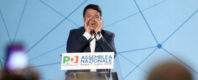 Assemblea Pd: caro Renzi, ho ascoltato le tue 10 ragioni della sconfitta. E farò l'esatto contrario