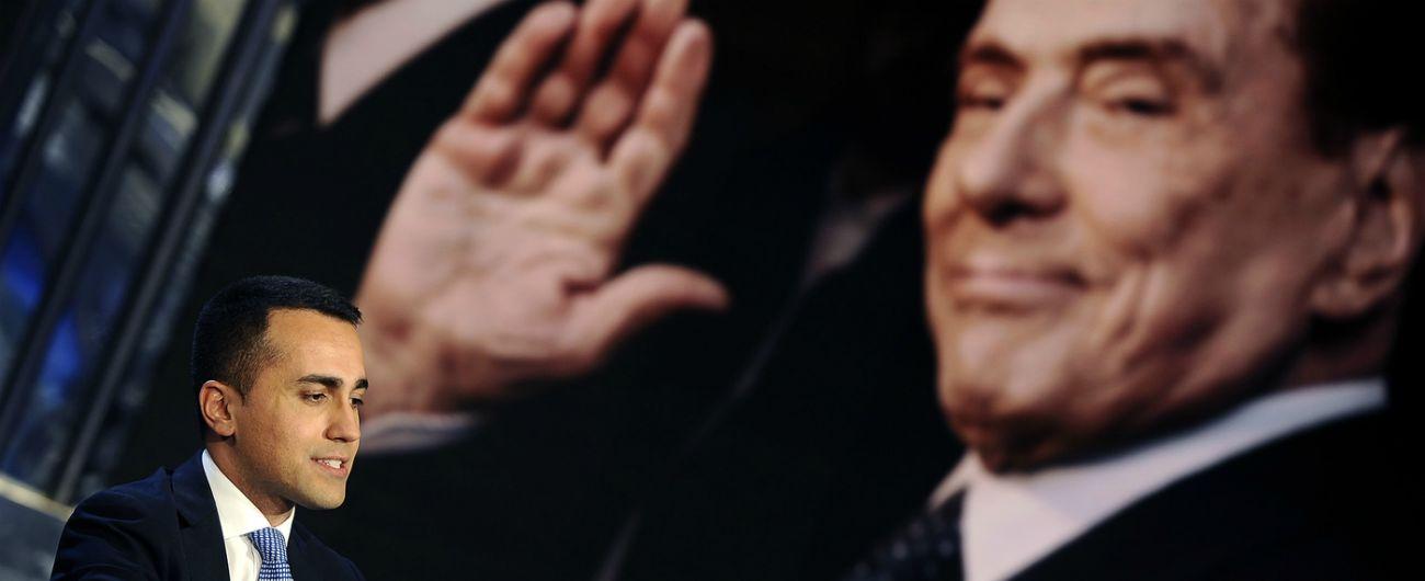 """Berlusconi attacca il M5s e annuncia: """"Europee? Penso di candidarmi"""". Di Maio: """"Capo di Mediaset ha fatto il suo tempo"""""""