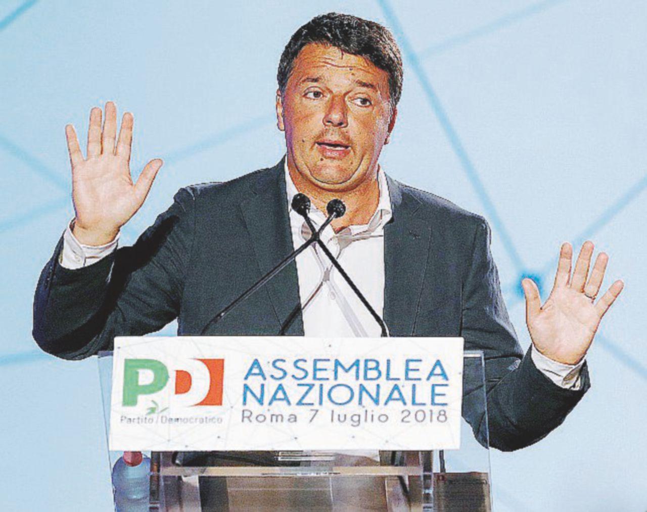 """Pd ai ferri corti. Renzi: """"Sbagliate Matteo…"""""""