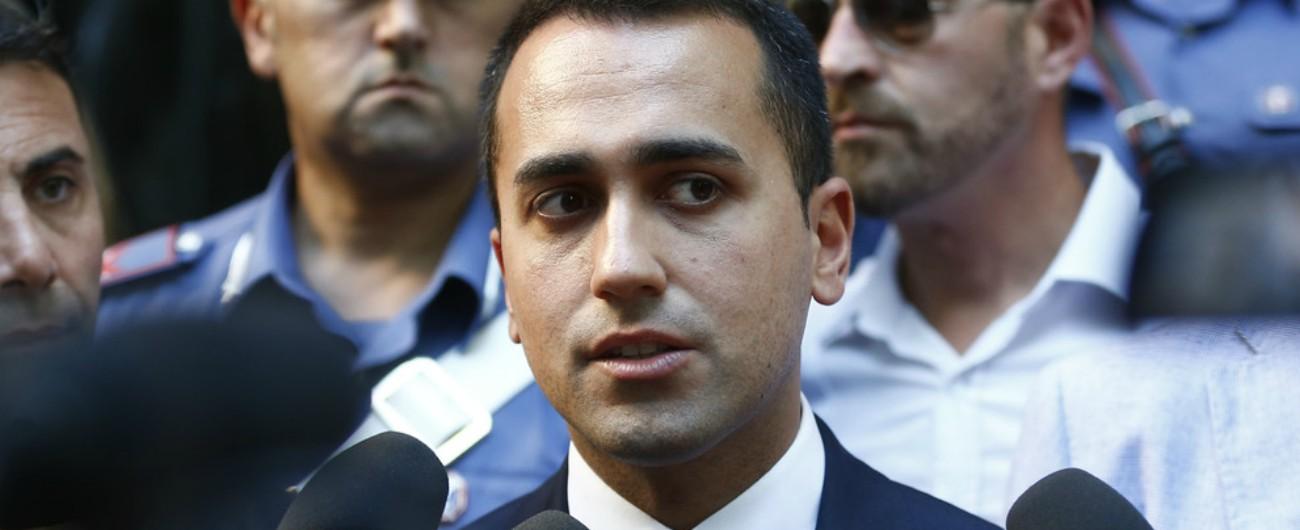 """Legge di Bilancio, Di Maio: """"Il M5s non voterà aggiornamento al Def se non ci sarà il reddito di cittadinanza"""""""