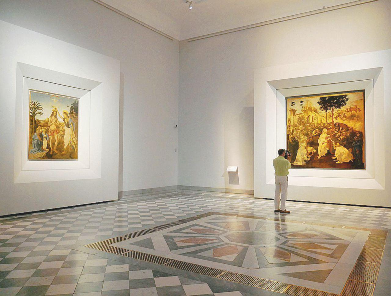 Leonardo in una sala. Agli Uffizi ritorna anche l'Adorazione