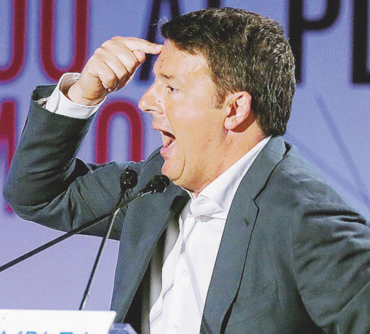Renzi prepara l'esordio in tv su Mediaset