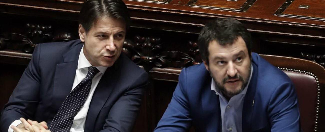 Risultati immagini per Conte sente Salvini