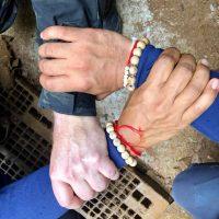 La foto simbolo dei soccorritori