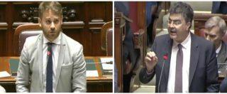 """Tribunale Bari, bagarre in Aula. Ferraresi (M5s) vs Fiano (Pd): """"Risponderete in sede penale"""". """"Ci minaccia"""". Seduta sospesa"""