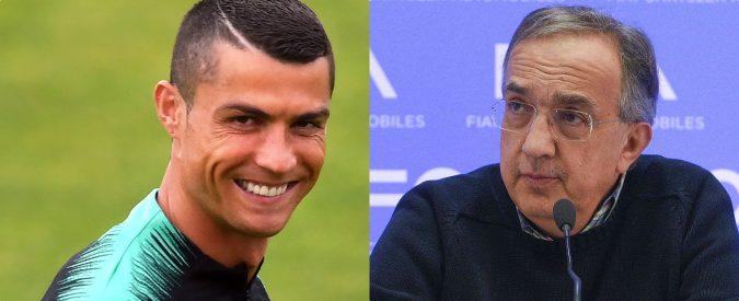 Cristiano Ronaldo alla Juve, chissà se rosica anche Marchionne