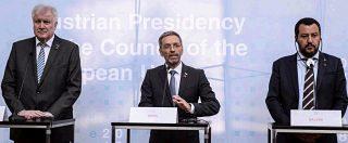 Migranti, accordo Italia-Germania-Austria per frenare le partenze e gli sbarchi in Ue