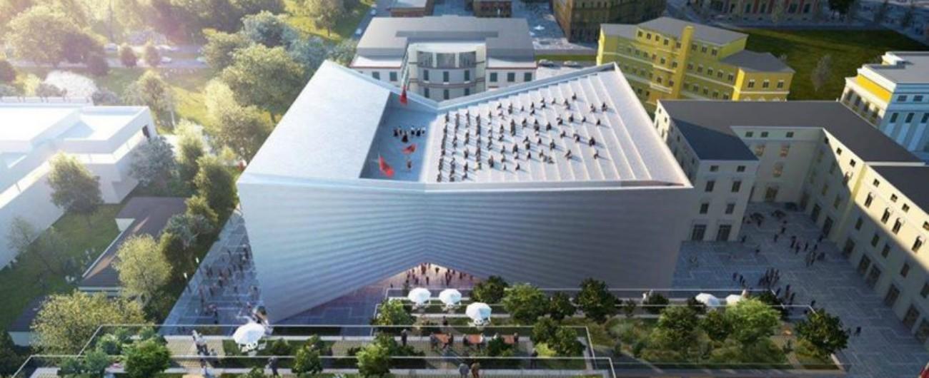 A Tirana sarà demolito il teatro italiano: le accuse di speculazione gettano ombre sui negoziati Ue