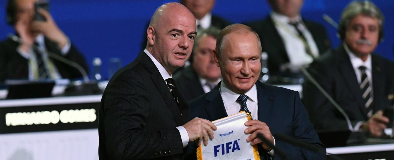 Russia 2018, le palle di Putin / Il mondiale che (non) sta cambiando Vladimir