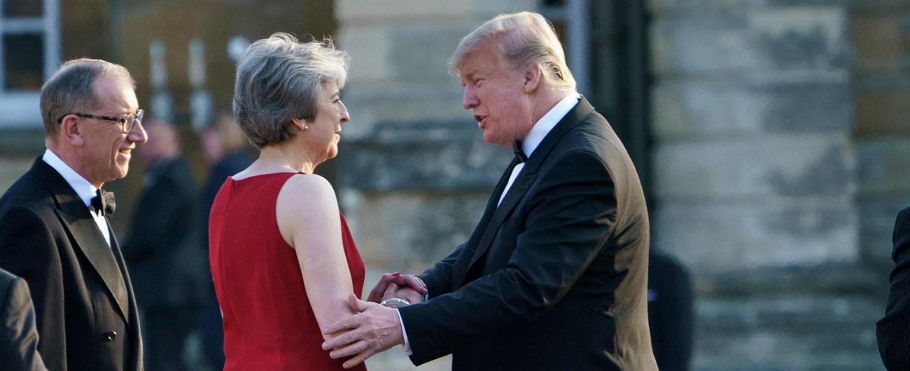 """Brexit, Trump: """"Alla May avevo detto come fare ma ha scelto un'altra strada. Così ucciderà l'accordo con gli Usa"""""""