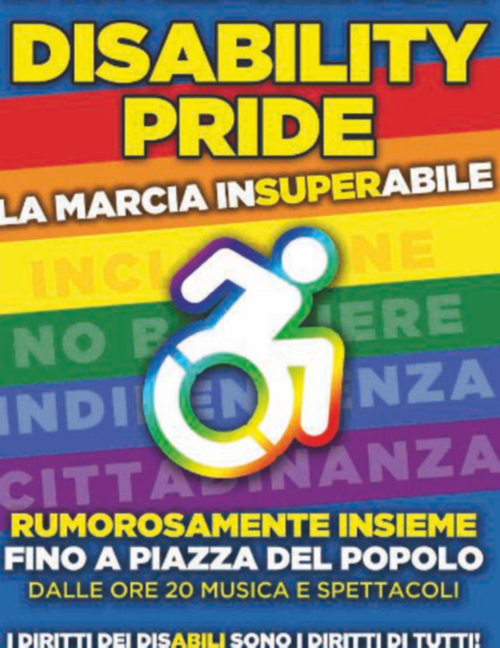 Disability Pride. Domani sfila il corteo per i diritti