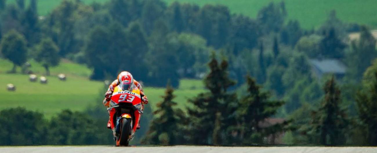 MotoGp Germania, vince sempre Marc Marquez. Le Yamaha sul podio: 2° Rossi
