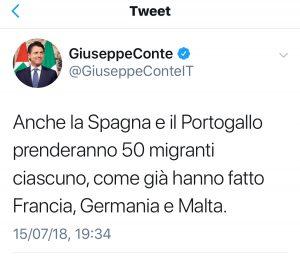 Sabato il premier italiano aveva scritto una lettera ai presidenti di  commissione e Consiglio Ue 462d208f8cc