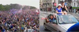 Mondiali 2018, vince la Francia. Festa grande a Parigi: migliaia di persone verso gli Champs-Elysées