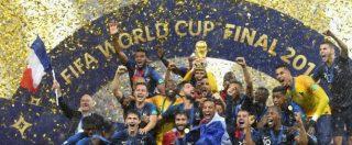 Finale Mondiali 2018, Francia-Croazia 4-2: i gol di Pogba e Mbappé per la seconda coppa nella storia dei Bleus [FOTO]