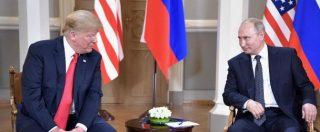 """Trump-Putin giocano di sponda sul Russiagate: """"Un'inchiesta farsa che ci ha tenuti separati"""""""