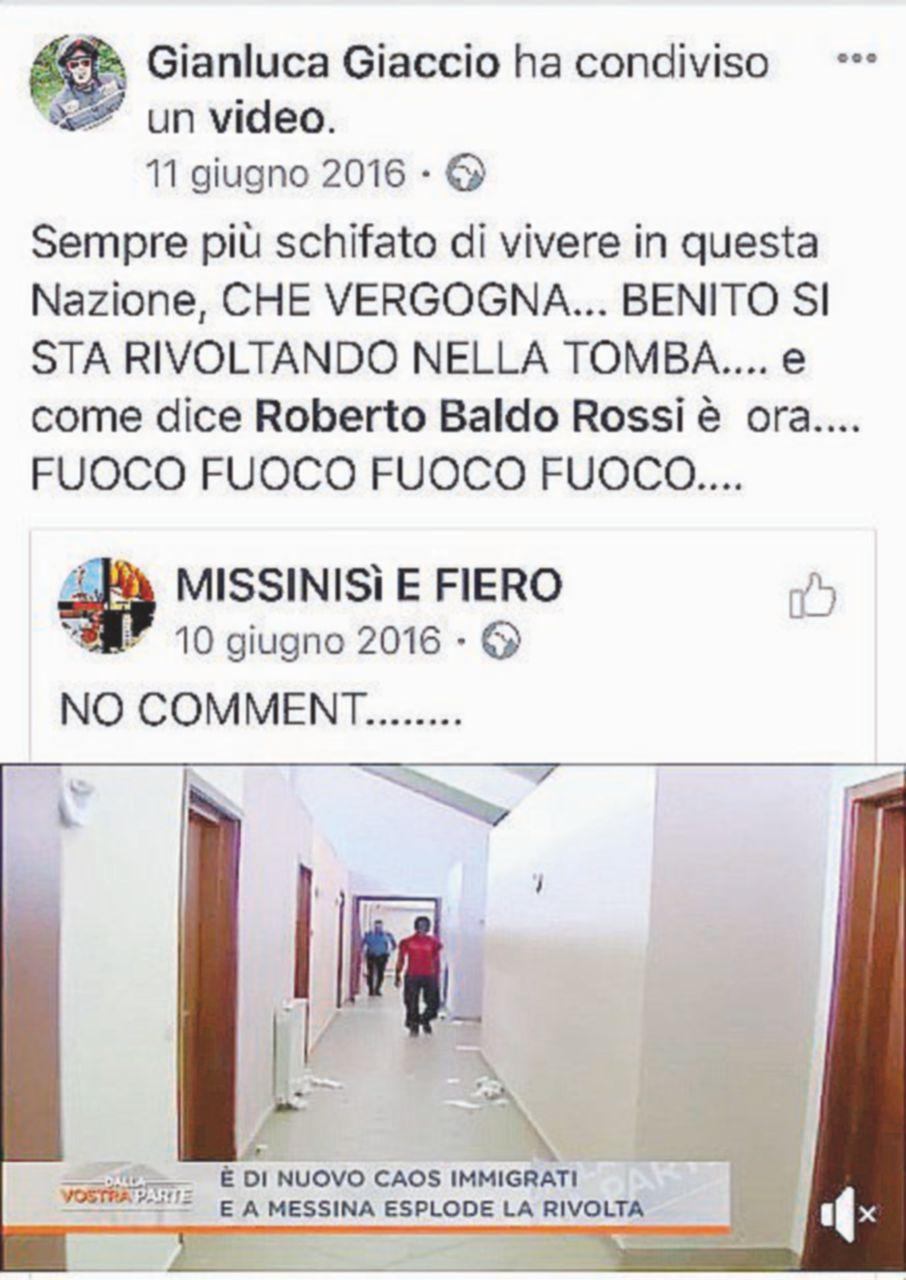 Oggi Salvini incontrerà il carabiniere che inneggia al Duce su Facebook