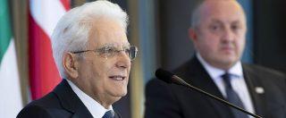 Ponte Morandi, il presidente della Repubblica firma il decreto Genova