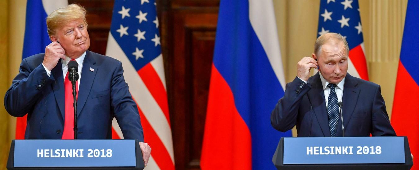 Helsinki: Trump e Putin, i Gianni e Pinotto del Russiagate